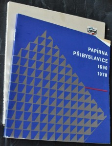 náhled knihy - Papírna Přibyslavice 1690 - 1970
