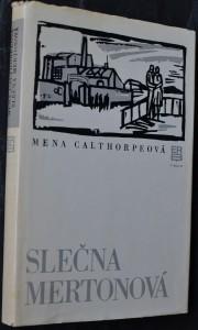 náhled knihy - Slečna Mertonová
