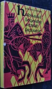 náhled knihy - Václav Cibula vypravuje hrdinské legendy staré Francie