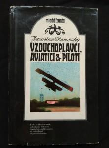 náhled knihy - Vzduchoplavci - aviatici a piloti (A4, Ocpl, 224 s., il. O. Jelínek)