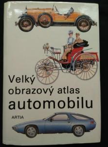 náhled knihy - Velký obrazový atlas automobilu (A4, Ocpl, 1100 bar a čb il.)