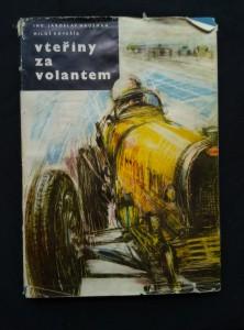 náhled knihy - Vteřiny za volantem (il. V. Bidlo)