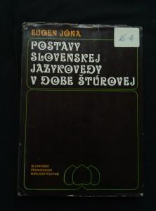 náhled knihy - Postavy slovenskej jazykovedy v době Štůrovej (Ocpl., 172 s.)