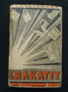 náhled knihy - Krakatit (Ocpl., 384 s., ob. O. Mrkvička)