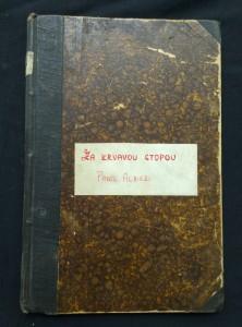 náhled knihy - Za krvavou stopou (Oppl., 108 s., il. Viktor Oliva)