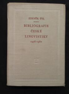 náhled knihy - Bibliografie české lingvistiky 1956-1960 (Ocpl., 712  s.)