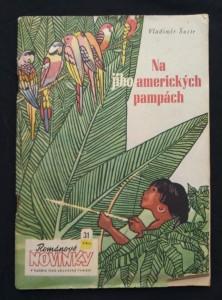 náhled knihy - Na jihoamerických pampách (Obr, 98 s., il. J. Javorský)