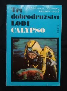 náhled knihy - Tři dobroružství lodi Calypso (A4, Obr, 192 s., 81 bar. obr.)