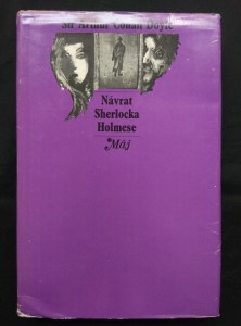 náhled knihy - Návrat Sherlocka Holmese (Ocpl, 296 s., il. J. Hochman)