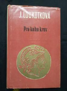 náhled knihy - Pro koho krev (Ocpl, 180 s., ob a il. K. Vodák)