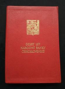 náhled knihy - Deset let Národní banky československé (Obr, 450 s.)