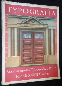 náhled knihy - Typografia: Průmyslová tiskárna v Praze (ročník 32, číslo 9)