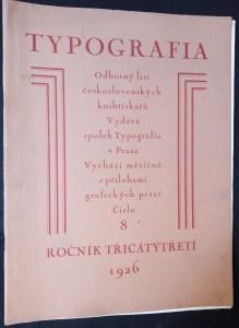 náhled knihy - Typografia, odborný list československých knihtiskařů: Dyrynk - obnovitel (ročník 33, číslo 3)