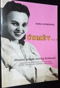 náhled knihy - Úsměv...(životní příběh Aničky Zelíkové)