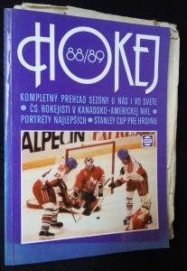 náhled knihy - Hokej 1988-1989: Kompletný prehl´ad sezóny u nás i vo svete