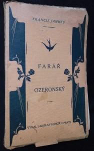 náhled knihy - Farář ozeronský