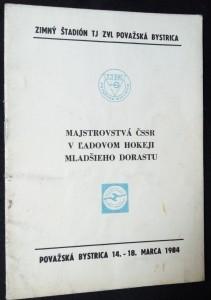 náhled knihy - Majstrovstvá ČSSR v l´adovom hokeji mladšieho dorastu