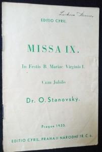 náhled knihy - Missa IX. : In Festis B. Mariae Virginis I. Cum Jubilo