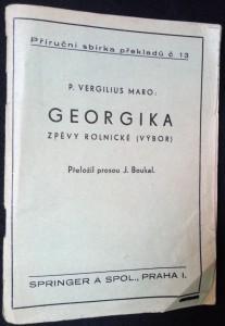 náhled knihy - Georgika : zpěvy rolnické (výbor)