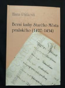 náhled knihy - Berní knihy Starého Města pražského 1427-1434 (pv, 327 s.)