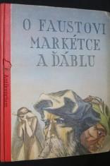 náhled knihy - O Faustovi, Markétce a ďáblu