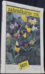 náhled knihy - Zahrádkářův rok: jaro