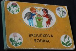 náhled knihy - Broučkova rodina