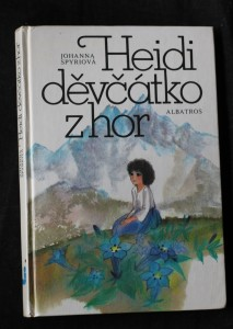 náhled knihy - Heidi, děvčátko z hor : pro čtenáře od 6 let