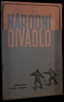 náhled knihy - Národní divadlo - List divadelní práce