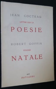 náhled knihy - Lettre sur la poésie & Foudre natale