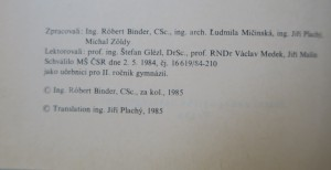 antikvární kniha Základy odborné přípravy pro 2. ročník gymnázia : Technická grafika, 1985