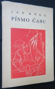 náhled knihy - Písmo času (včetně autogramu Jana Knoba)