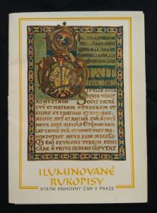 náhled knihy - Iluminované rukopisy Státní knihovny ČSR v Praze (Obr, 12 reprofoto)