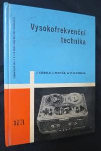 náhled knihy - Vysokofrekvenční technika pro 4. ročník průmyslových škol elektrotechnických
