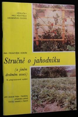 náhled knihy - Stručně o jahodníku a jiném drobném ovoci