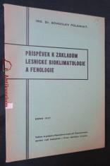 náhled knihy - Příspěvek k základům lesnické bioklimatologie a fenologie