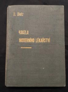 náhled knihy - Kouzla moderního lékařství (A4, Ocpl, 256 s., typo J. Štyrský, 32 foto, 16 il.)