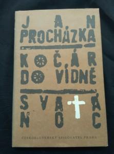 náhled knihy - Kočár do Vídně/ Svatá noc (Ocpl, 213 s., il. J. Sůra)
