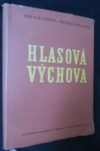 náhled knihy - Hlasová výchova