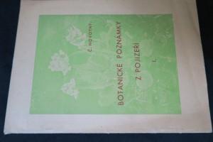 náhled knihy - Botanické poznámky z Pojizeří I.