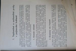 antikvární kniha Botanické poznámky z Pojizeří I., 1947