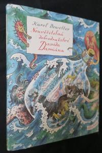 náhled knihy - Neuvěřitelná dobrodružství Davida Damiána (včetně podpisu a ilustrace od ilustrátora Boudy)