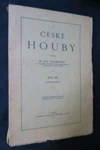 náhled knihy - České houby díly II., III, IV. a V.