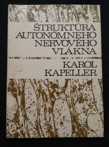 náhled knihy - Štruktúra autonomneho nervového vlákna (A4, Ocpl, 160 s.)