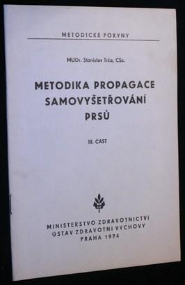 náhled knihy - Metodika propagace samovyšetřování prsů. 3