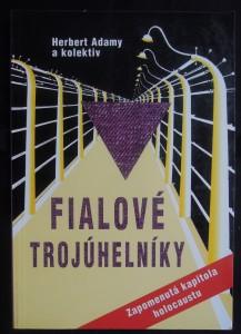 náhled knihy - Fialové trojúhelníky