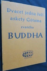 náhled knihy - Dvacet jedna řečí askety Gótama zvaného Buddha