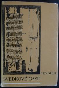 náhled knihy - Svědkové času