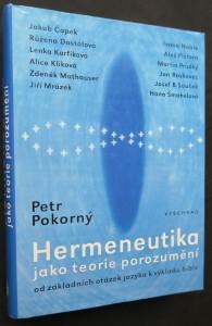 náhled knihy - Hermeneutika jako teorie porozumění : od základních otázek jazyka k výkladu bible