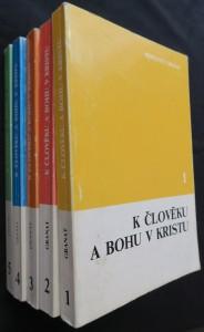 náhled knihy - K člověku a Bohu v Kristu: nástin katolické dogmatiky (série díl 1 - 5)